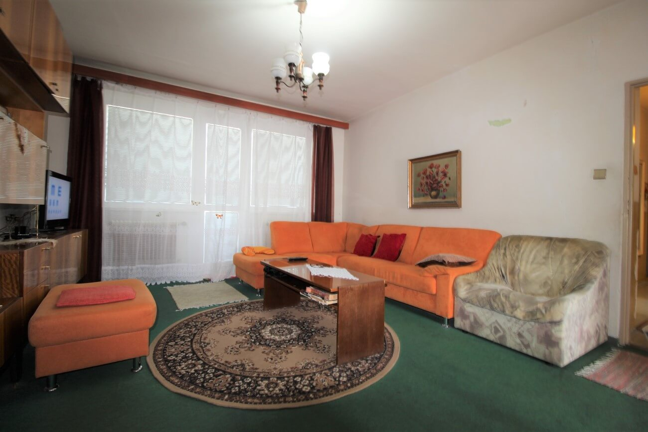 Pred kompletnou rekonštrukciou bytu na Sladovníckej v Trnave