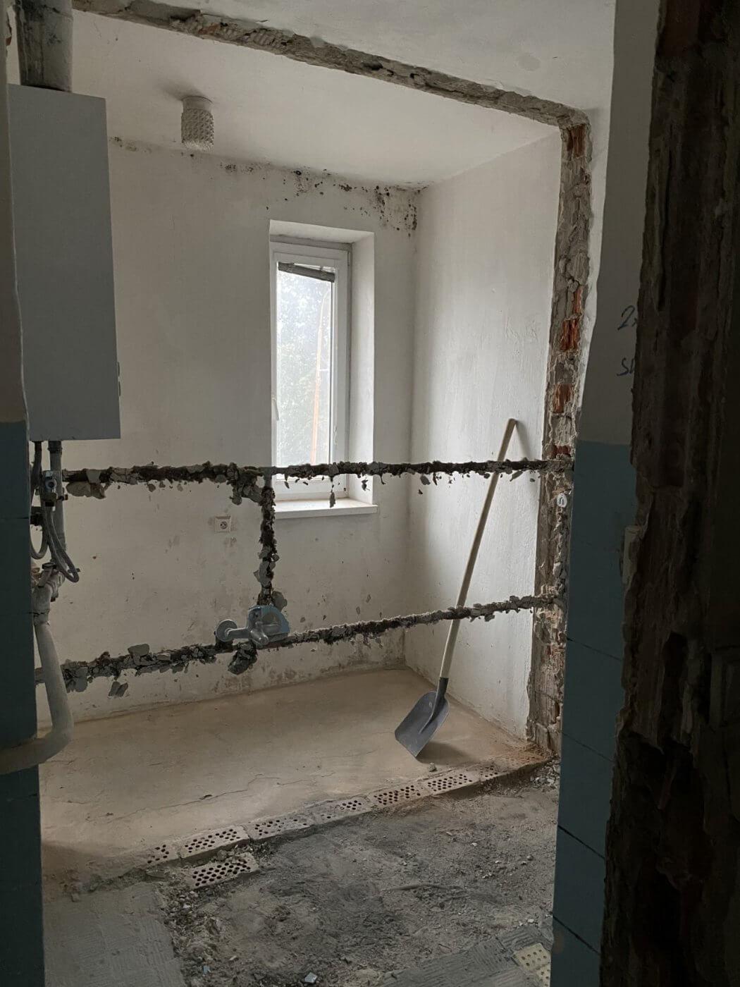 Rekonštrukcia bytu na Sladovníckej v Trnave